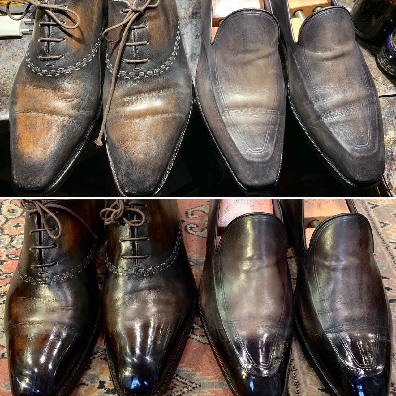 atelier entretien de vos souliers